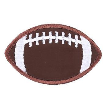 Football Iron-On Applique